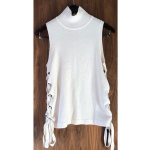 SugarLips side tied  shirt sleeves Top Size Xs